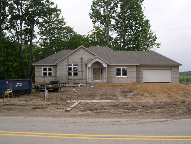 Custom Home Brick Ranch Home Builder Grand Rapids Mi